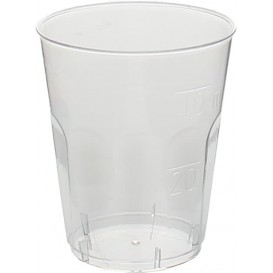 "Plastic PS Shotje Kristal ""Diamant"" 50ml (50 stuks)"