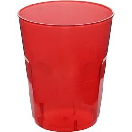 """Plastic PS Shotje Kristal """"Diamant"""" rood 50ml (600 stuks)"""