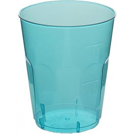 "Plastic PS Shotje Kristal ""Diamant"" blauw 50ml (600 stuks)"