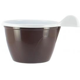 Tasse Plastique PS Chocolat 100 ml (480 Unités)
