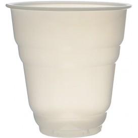 "Plastic PS beker Vending ""Design"" wit satijn 166ml Ø7,0cm (3000 stuks)"