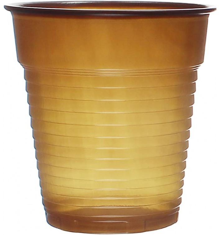 Gobelet Plastique Vending Marron 166ml Ø7,0cm (3000 Utés)
