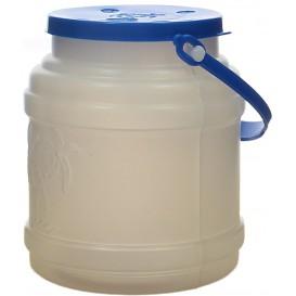 Bouteille Translucide Couvercle et Anse 500 ml (100 Utés)