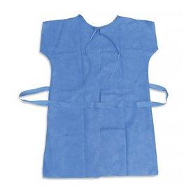 Blouse PP pour Patients RX Bleu XL (100 Utés)