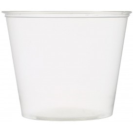 Pot à Sauce Plastique PET Crista 165ml Ø7,3cm (2500 Utés)