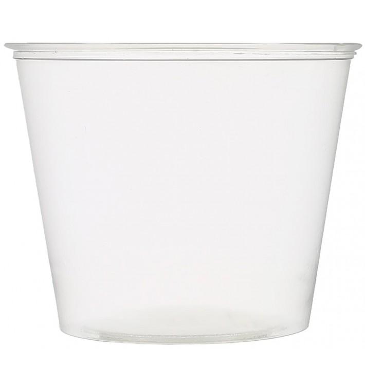 Pot à Sauce Plastique PET Crista 165ml Ø7,3cm (250 Utés)