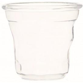 "Proeving Plastic mini beker PS ""Cabosse"" transparant 60ml (12 stuks)"