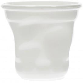 "Proeving Plastic mini beker PS ""Cabosse"" wit 60ml (12 stuks)"