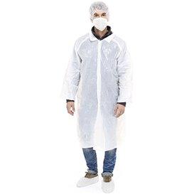 Kit de protection Polyéthylène 3 pièces + Masques Blanc (1 Kit)