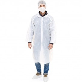 Kit de protection Polyéthylène 3 pièces + Masques Blanc (100 Kits)