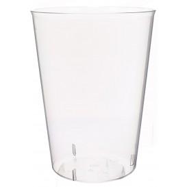 Plastic pint PS glas Geïnjecteerde glascider 600 ml (500 eenheden)