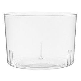 Plastic PS Wijn glas  Geïnjecteerde glascider 220 ml (480 eenheden)