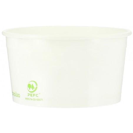 Pot à glace en Carton Ecologique 100ml (65 Utés)
