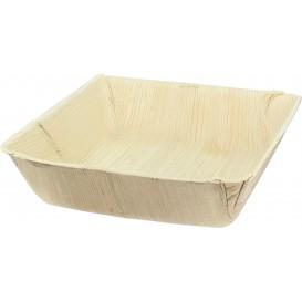 Assiette Creuse en Feuilles de Palmier 16x16cm (25 Unités)
