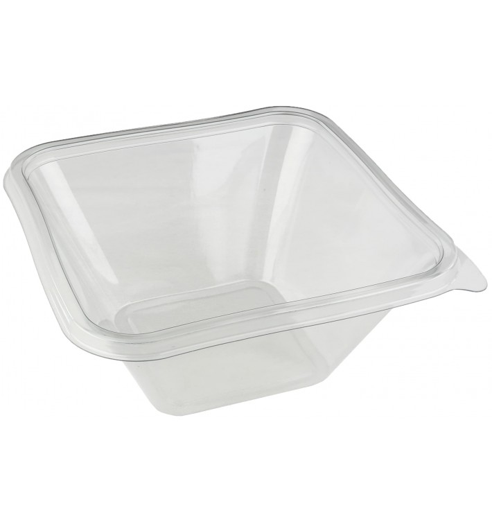 Bol en Plastique PET Impression 1000ml 170x170x80mm (50 Utés)