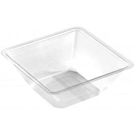 Plastic mini-Kom PET hittebestendig 175ml 9x9x4cm (50 stuks)