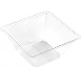 Plastic mini-Kom PET hittebestendig 250ml 9x9x6cm (50 stuks)