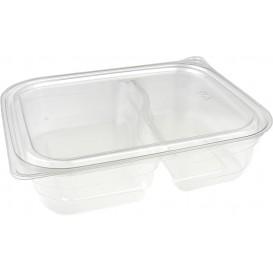 Récipient Plastique 2C PET 220/280ml 18x15x4cm (450 Utés)
