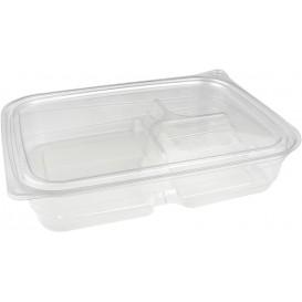 Récipient Plastique PET 3C 700ml 22x16x4cm (300 Utés)