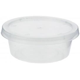 Pot à Sauce Plastique PP avec Couvercle 85ml (1000 Utés)