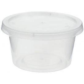 Pot à Sauce Plastique PP avec Couvercle 120ml (50 Utés)