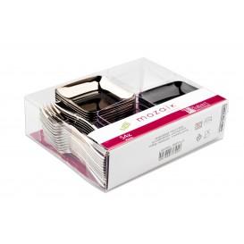 Kit pour Dégustation Plastique PS de 54 pièces (1 Kit)