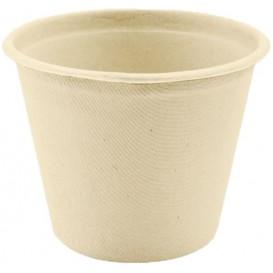Pot en Canne à Sucre Naturel Ø114mm 500ml (50 Utés)