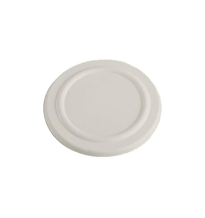 Couvercle en Canne à Sucre Blanc pour Pot 450ml Ø110mm (50 Utés)