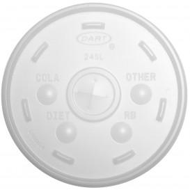 Couvercle Gobelet Isotherme FOAM Ø9,4cm (100 Unités)