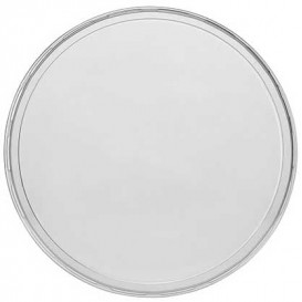 Plastic PP Deksel voor een deli Container transparant 350, 500 en 1000ml Ø11,5cm (500 stuks)