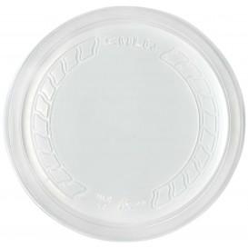 """Plastic Deksel PP """"Deli"""" transparant Ø12cm (50 eenheden)"""