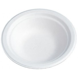 Bol en Fibre de Carton 200ml Blanc (100 Unités)