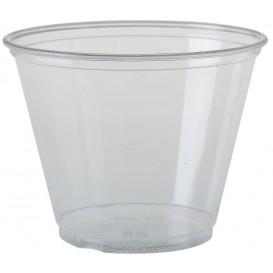 Plastic beker PET Kristal Solo® 9Oz/266ml Ø9,2cm (50 stuks)