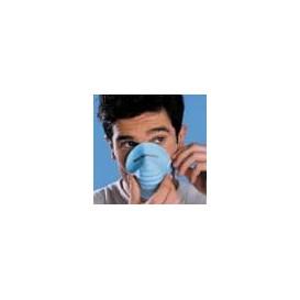 Masque Jetable à coquille en Polypropylène Bleu (50 Unités)
