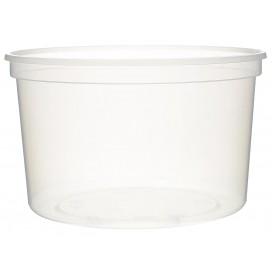 Plastic deli Container transparant PP 500 ml Ø11,5cm (50 stuks)