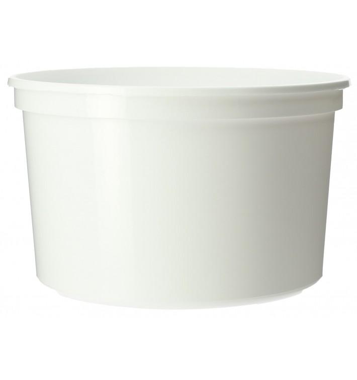 Plastic deli Container wit PP 500ml Ø11,5cm (50 eenheden)
