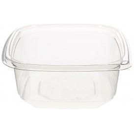 Plastic deli Container PET onverbrekelijk 375ml 12x12x4cm (1000 stuks)
