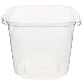 Plastic deli Container PET onverbrekelijk 750ml 12x12x9cm (500 stuks)