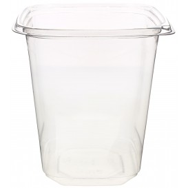 Plastic deli Container PET onverbrekelijk 1000ml 12x12x13cm (500 stuks)