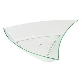 Saucières Triangle Vert transp.12,5 x 12 x 2cm (12 Utés)
