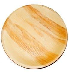 Assiette en Feuilles de Palmier 18,0 cm (25 Unités)
