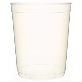Plastic deli Container PP transparant 1000 ml Ø11,5cm (50 stuks)