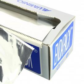 Aluminium folie wrap met Dispenser Box 40cmx300m 4Kg (6 stuks)