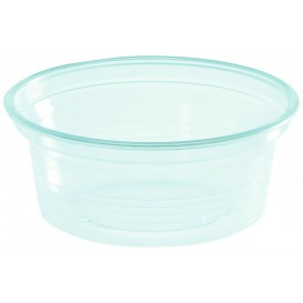 Pot à Sauce Plastique PS Trans. 50ml Ø7cm (1000 Utés)