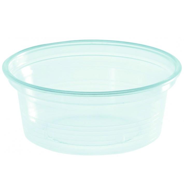 Pot à Sauce Plastique PS Trans. 50ml Ø7cm (1000 Utés)