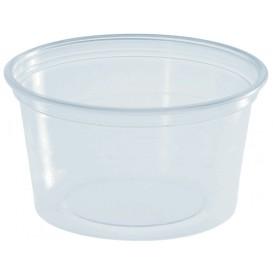 Pot à Sauce Plastique PS Trans. 80ml Ø7cm (3000 Utés)