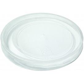 Plastic Deksel RPET Kristal gesloten Plat Ø4,5cm (250 stuks)