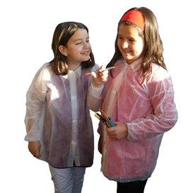 Blouse Enfant PP 35gr.Velcro et Sans Poches (50 Utés)