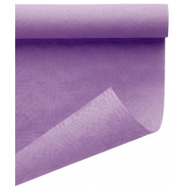 Papieren tafelkleed rol lila 1,2x7m (25 stuks)