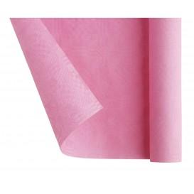 Papieren tafelkleed rol roze 1,2x7m (25 stuks)